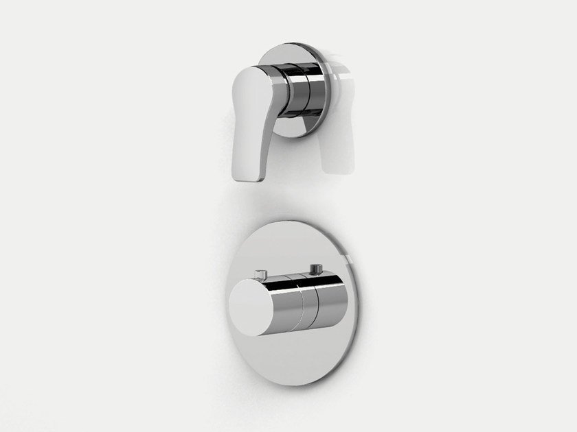 2 hole thermostatic shower/bathtub mixer AL/23 | 2 hole thermostatic shower mixer - ABOUTWATER