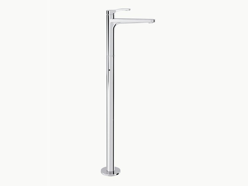 Chrome-plated floor standing washbasin mixer AL/23 | Floor standing washbasin mixer - ABOUTWATER