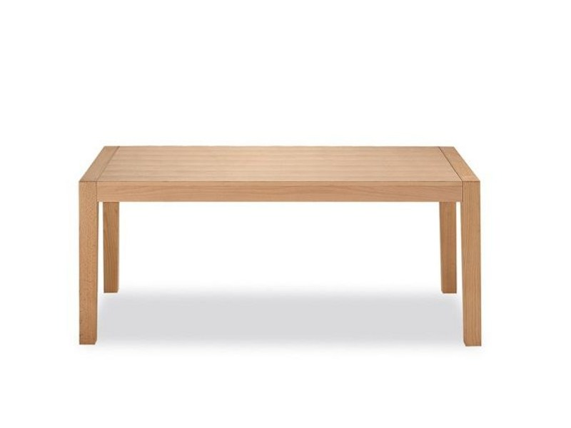 Extending rectangular wooden table 870 - Tonon