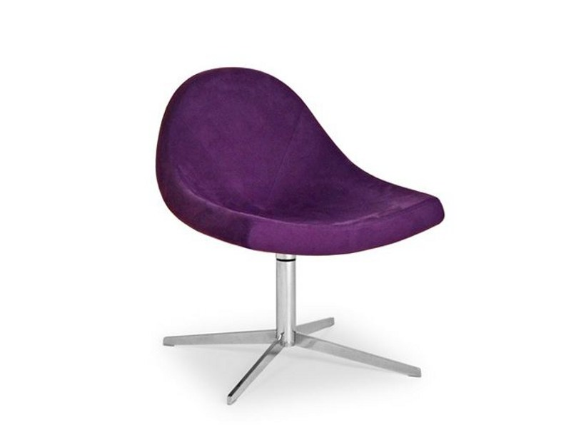 Swivel easy chair with 4-spoke base DIANTHA 041 - Tonon