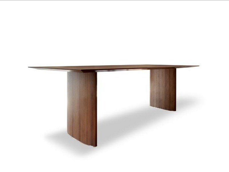 Rectangular table ELLISSE 869 by Tonon