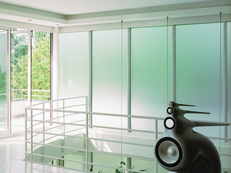 Satin-finished glass SATINOVO MATE'® - Saint-Gobain Glass Italia