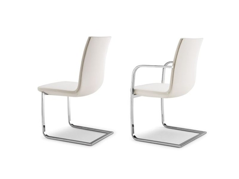 Cantilever chair with armrests BREEZE 980 - Tonon