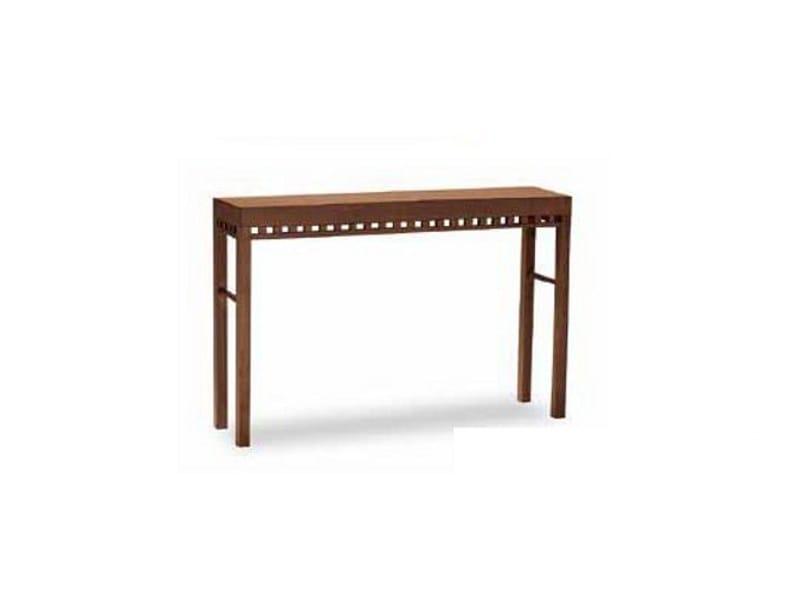 Rectangular beech console table EPISODES 318 | Console table - Tonon