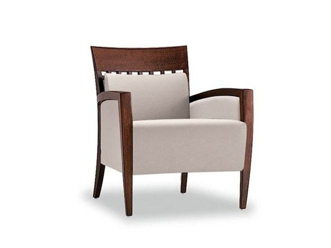 Upholstered armchair with armrests EPISODES 318 | Armchair - Tonon