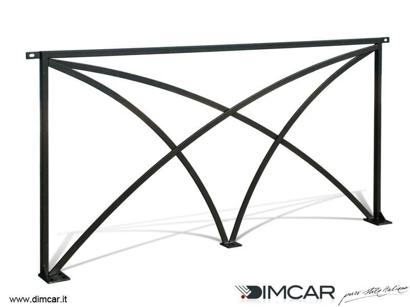Galvanized steel pedestrian barrier Recinzione Palermo Archi - DIMCAR