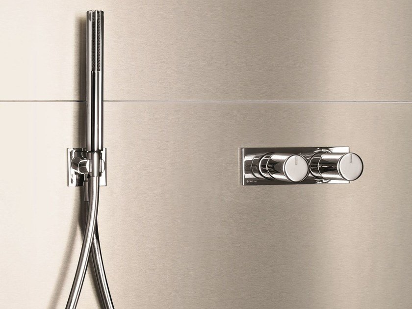 Thermostatic shower/bathtub mixer with diverter MILANO - D185A/E685B - Fantini Rubinetti