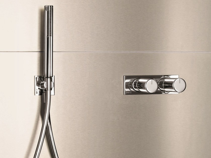 Thermostatic shower/bathtub mixer with diverter MILANO - D185A/E685B by Fantini Rubinetti