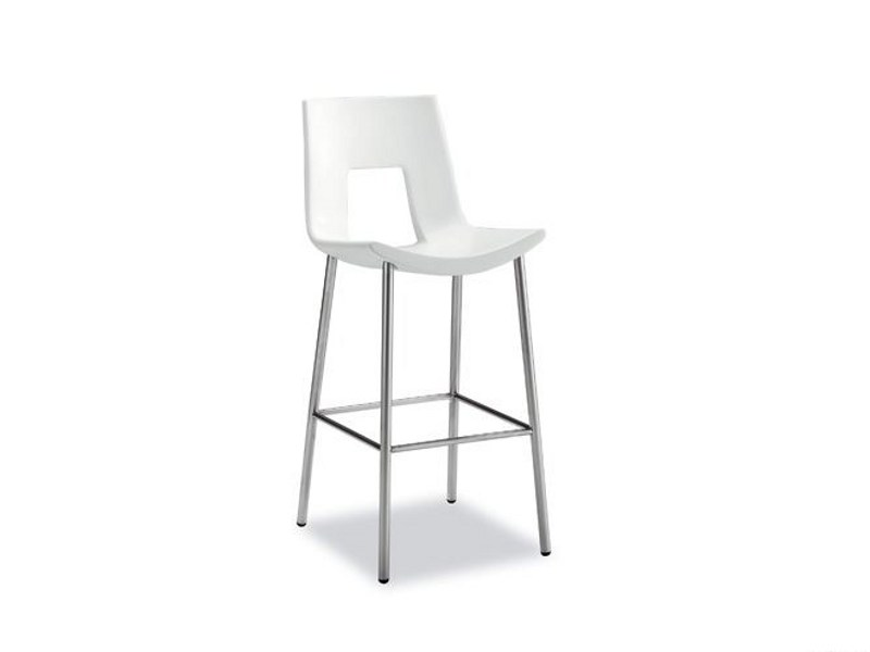 Steel stool NINE EIGHTEEN 918 | Stool by Tonon