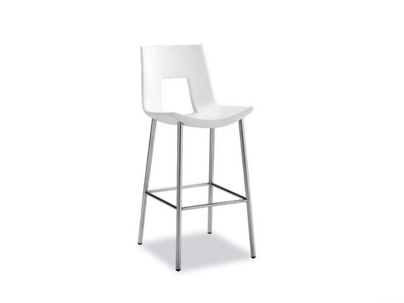 Steel stool NINE EIGHTEEN 918 | Stool - Tonon