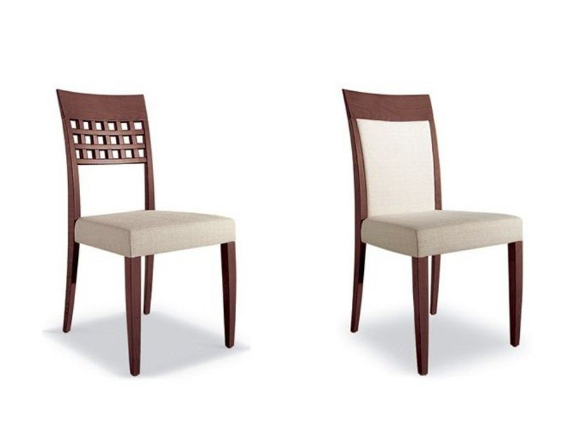 Cherry wood chair with armrests EPISODES 317 - Tonon