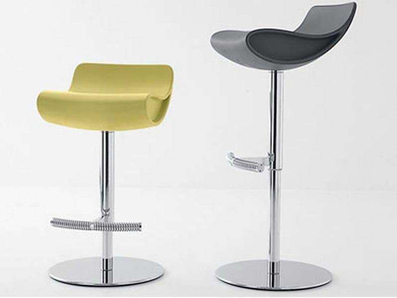 Height-adjustable swivel stool MEGGY | Height-adjustable stool - ITALY DREAM DESIGN - Kallisté