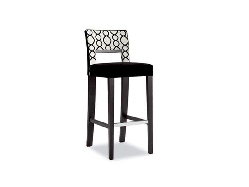 High upholstered stool LADY WINDSOR 228 | Stool - Tonon