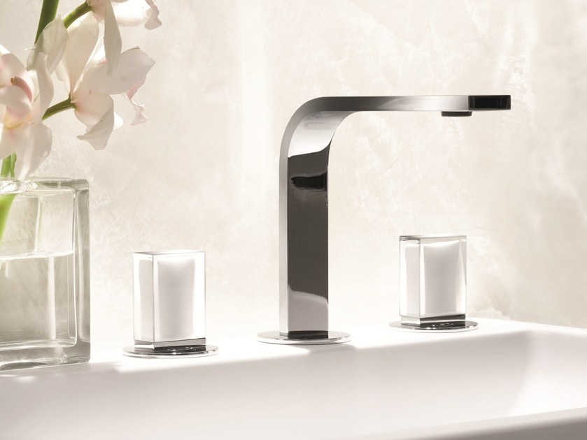 3 hole countertop washbasin tap VENEZIA IN | Countertop washbasin tap - Fantini Rubinetti