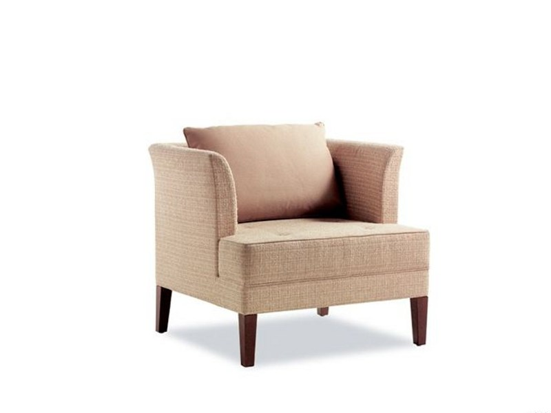 Upholstered armchair LORD GERRIT 222 | Armchair by Tonon