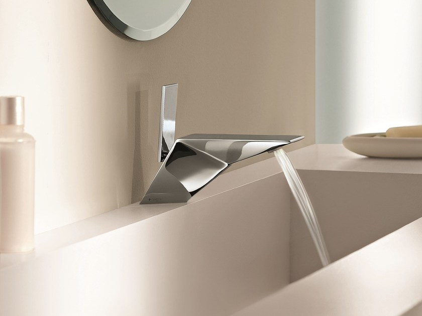 Countertop 1 hole washbasin mixer BELVEDERE | Chromed brass washbasin mixer - Fantini Rubinetti