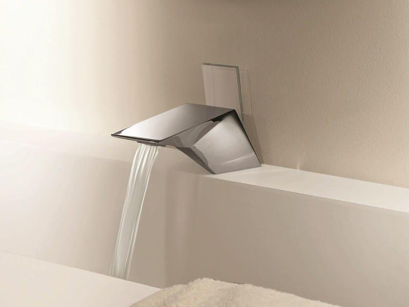 Countertop 1 hole washbasin mixer BELVEDERE | Crystal washbasin mixer - Fantini Rubinetti