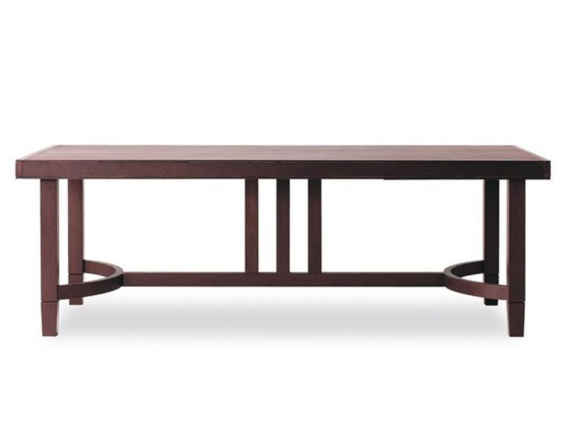 Extending rectangular table LORD GERRIT 223 - Tonon