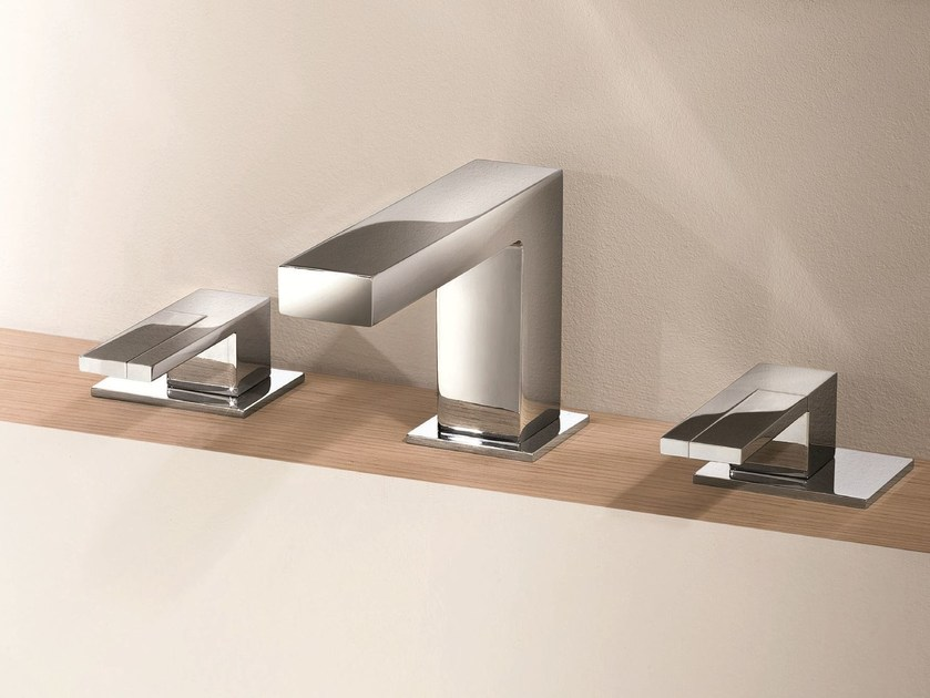 3 hole countertop washbasin tap AR/38 | 3 hole washbasin tap by Fantini Rubinetti