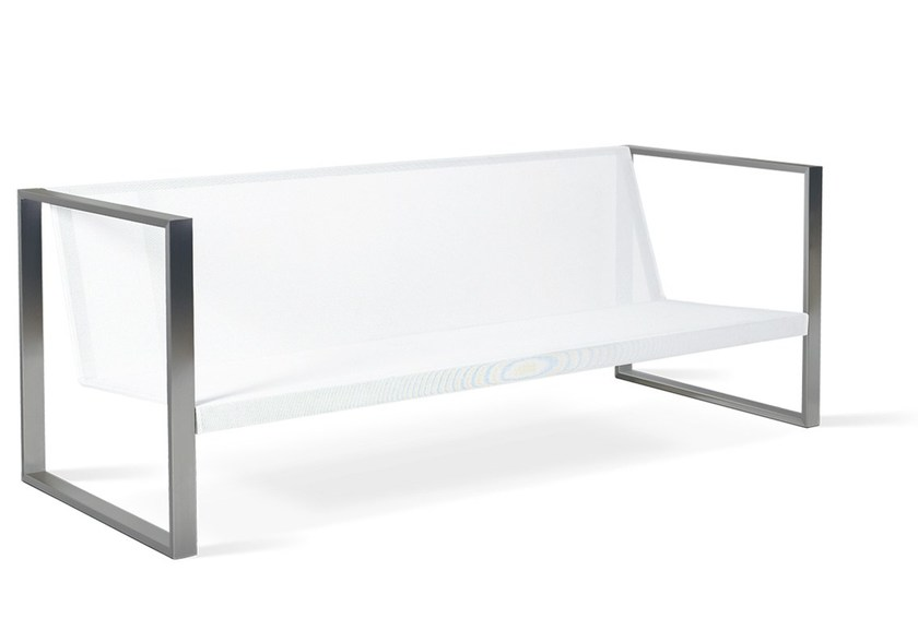 Batyline® garden sofa BANCA LOUNGE by FueraDentro