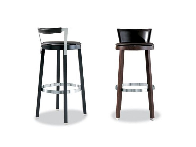 High upholstered stool SELLA 290 | Stool - Tonon
