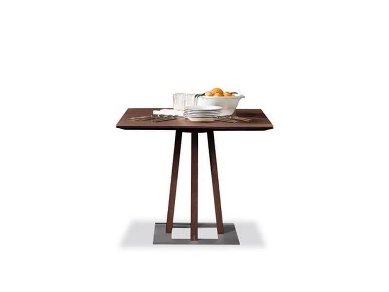 Square contract table SELLA | Square table - Tonon