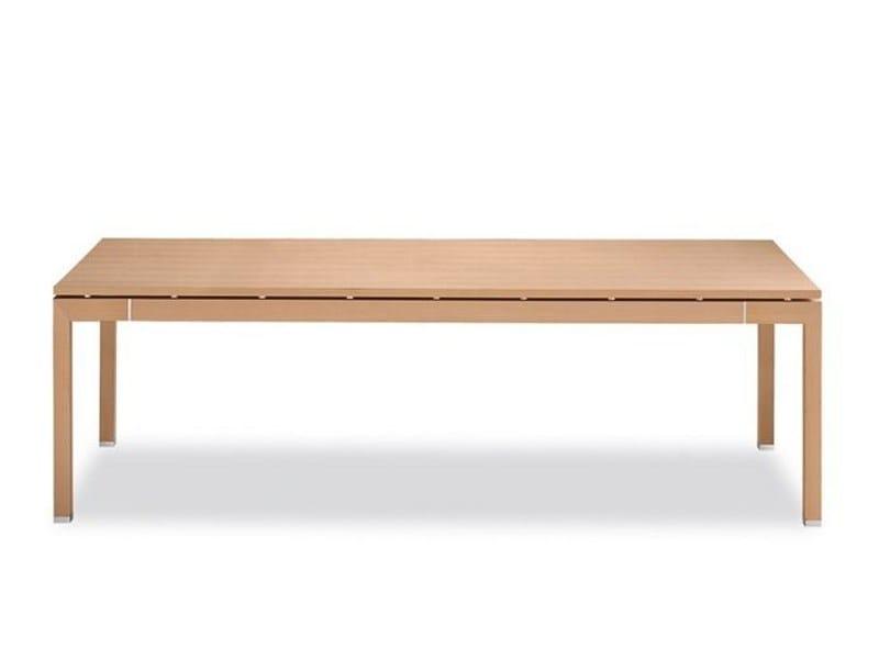 Extending wooden table SELLA | Extending table - Tonon
