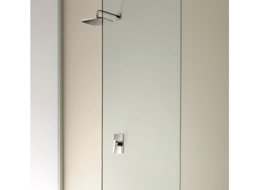 Shower mixer with overhead shower DOLCE | Shower mixer - Fantini Rubinetti