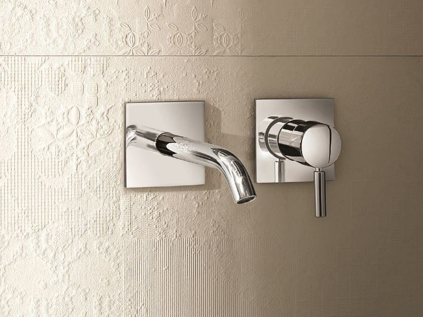 2 hole wall-mounted washbasin mixer NOSTROMO - D013A/E411B - Fantini Rubinetti