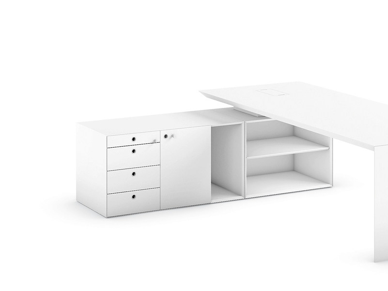 MDF office drawer unit MULTIPLICEO | Office drawer unit - FANTONI