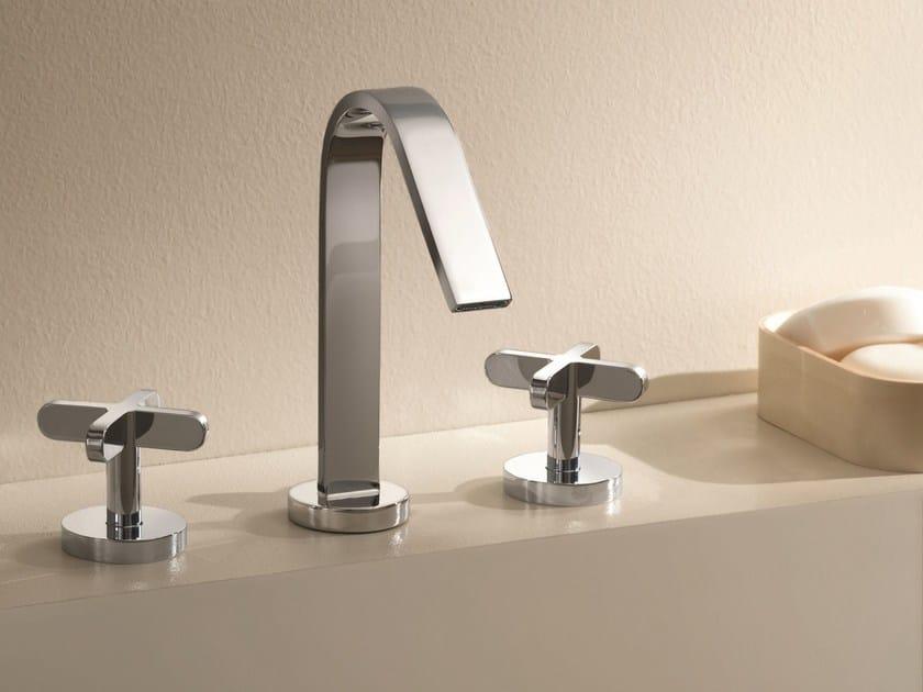 3 hole countertop washbasin tap RIVIERA | 3 hole washbasin tap - Fantini Rubinetti