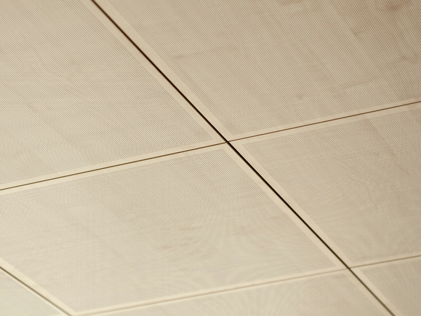 Acoustic MDF ceiling tiles NANOFOR - FANTONI