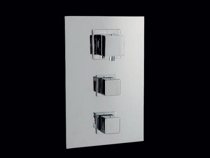 Brass thermostatic shower mixer CEUTA | Shower mixer - Aquassent Shower System