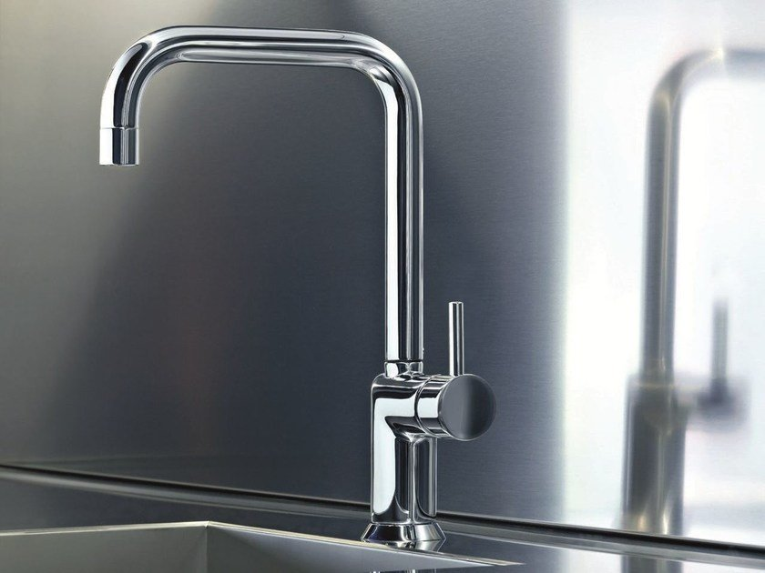 Countertop kitchen mixer tap with swivel spout CAFÈ | Countertop kitchen mixer tap by Fantini Rubinetti