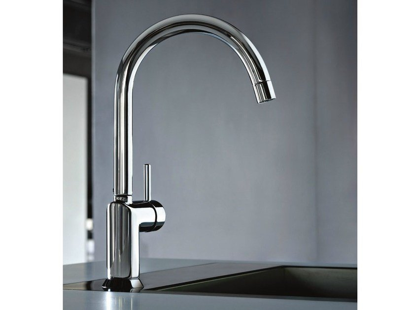 Countertop kitchen mixer tap with swivel spout CAFÈ | Kitchen mixer tap with swivel spout - Fantini Rubinetti