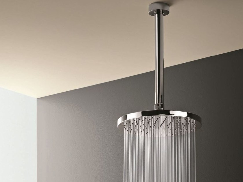 Ceiling mounted overhead shower with arm Ceiling mounted overhead shower - Fantini Rubinetti