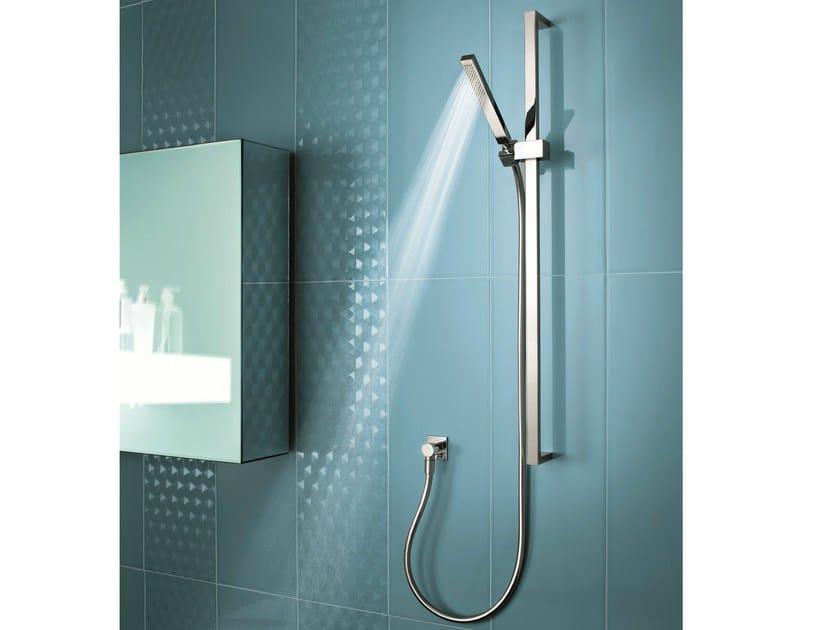 Shower wallbar with hand shower LINEA - Fantini Rubinetti