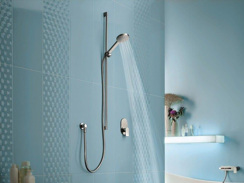 Shower wallbar with hand shower with mixer tap MARE | Shower wallbar - Fantini Rubinetti