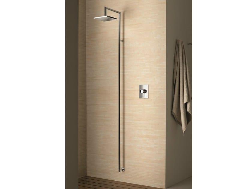 Colonna doccia a parete by fantini rubinetti design studio c p - Soffione doccia incasso ...