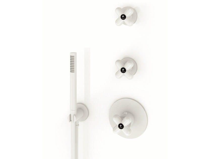 3 hole thermostatic shower mixer I BALOCCHI | Thermostatic shower mixer by Fantini Rubinetti
