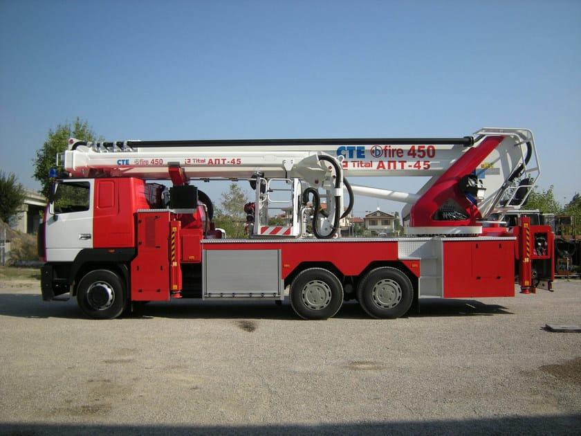 Overhead platform B-FIRE 450 - CTE
