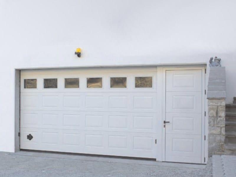 Sectional garage door IRIS - Breda Sistemi Industriali