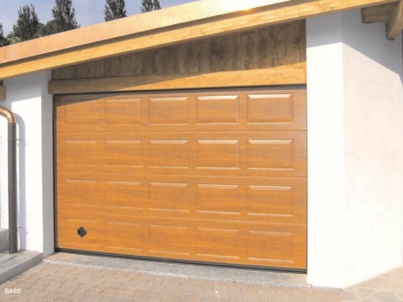 Sectional steel garage door VENUS - Breda Sistemi Industriali