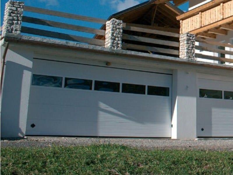 Sectional garage door ARES - Breda Sistemi Industriali