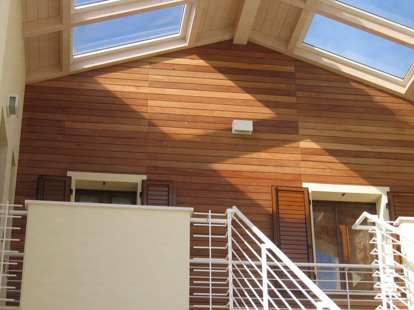Wood panel for facade CLADDING - Ravaioli Legnami