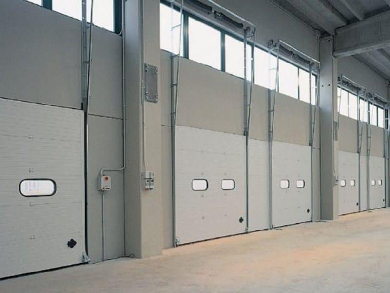 Sectional door DOCK - Breda Sistemi Industriali