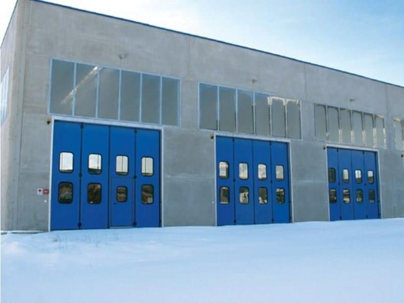 Industrial folding door APOLLO - Breda Sistemi Industriali