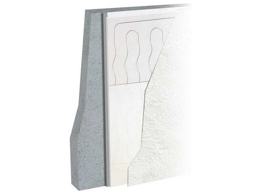 Plasterboard Radiant wall panel LEONARDO WALL by Eurotherm