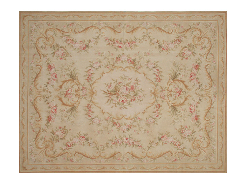 Patterned rectangular rug BEAUVOIR by EDITION BOUGAINVILLE