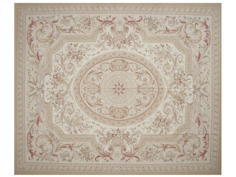 Patterned rectangular wool rug FERRIERE - EDITION BOUGAINVILLE